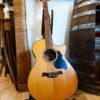 Oak Barrel Stave Guitar Holder