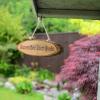Personalised Hanging Wooden Door Sign
